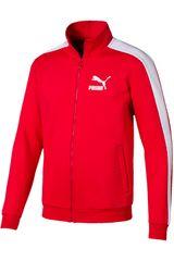 Puma Rojo de Hombre modelo iconic t7 track jacket dk Deportivo Casacas