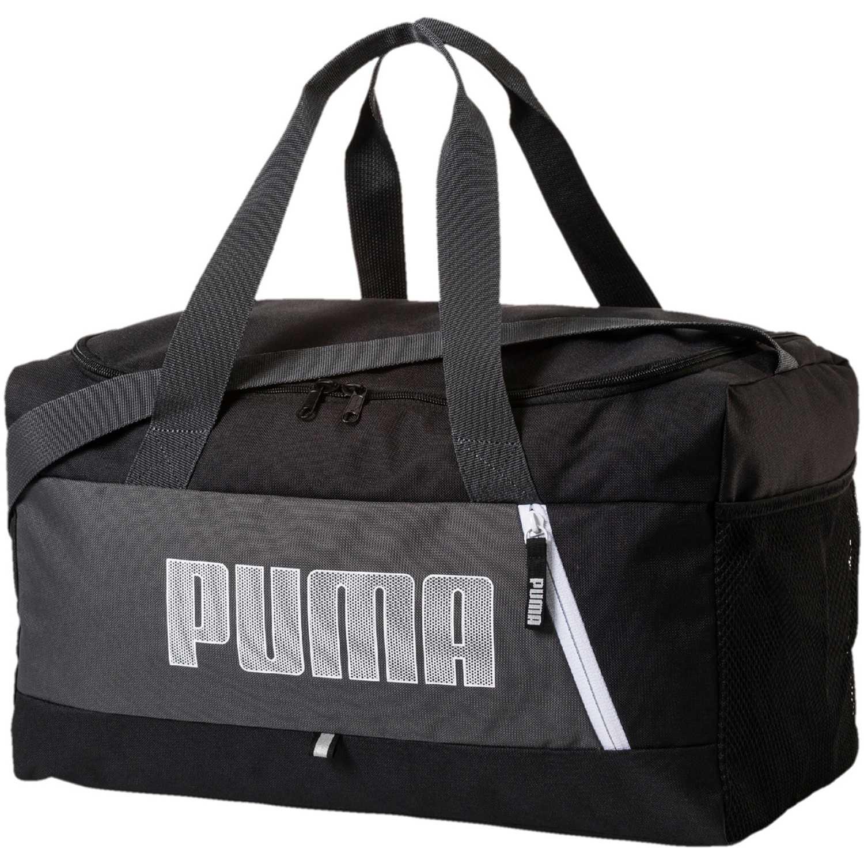 Maletin Deportivo de Hombre Puma Negro / blanco fundamentals sports bag s ii