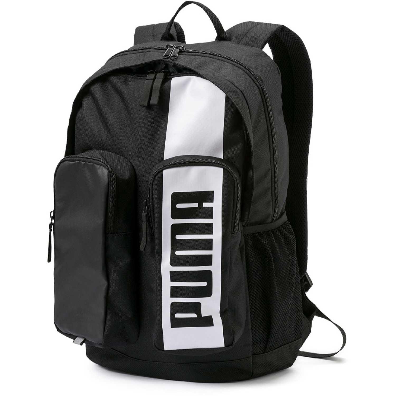 Mochila de Hombre Puma Negro / blanco puma deck backpack ii
