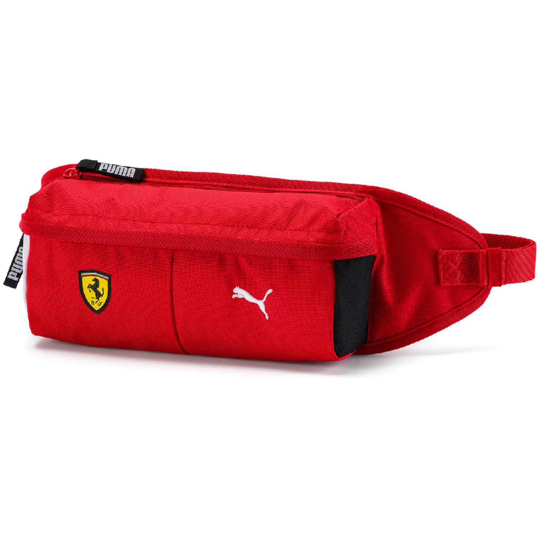 Canguro de Hombre Puma Rojo / amarillo sf fanwear waist bag