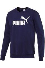Puma Azul / blanco de Hombre modelo ess logo crew sweat tr big logo Deportivo Poleras