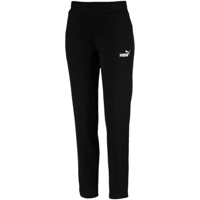 Pantalón de Mujer Puma Negro / blanco ess sweat pants tr op