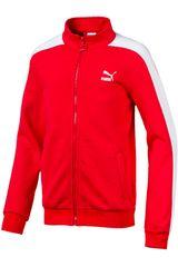 Casaca de Hombre Puma Rojo classics t7 track jacket b