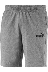 Puma Gris / negro de Hombre modelo ess jersey shorts Deportivo Shorts
