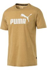 Puma Mosta de Hombre modelo ess+ heather tee Deportivo Polos