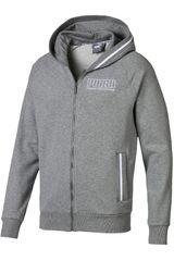 Casaca de Hombre Puma Gris athletics hooded jacket tr
