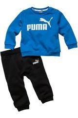 Puma Azulino / negro de Bebita modelo minicats ess jogger tr Buzos