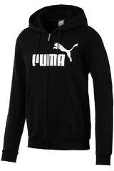 Puma Negro de Hombre modelo ess+ hoody tr Deportivo Poleras