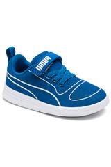 Puma Azulino / blanco de Niño modelo kali v ps Urban Deportivo Zapatillas casual Zapatillas Walking Casual