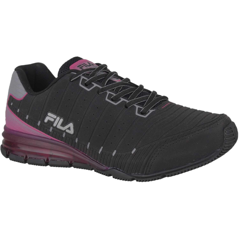 Zapatilla de Mujer Fila Negro / rosado tenis fila sequential 2.0 feminino