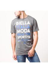Fila Gris de Hombre modelo men t-shirt moda 1911 Deportivo Polos