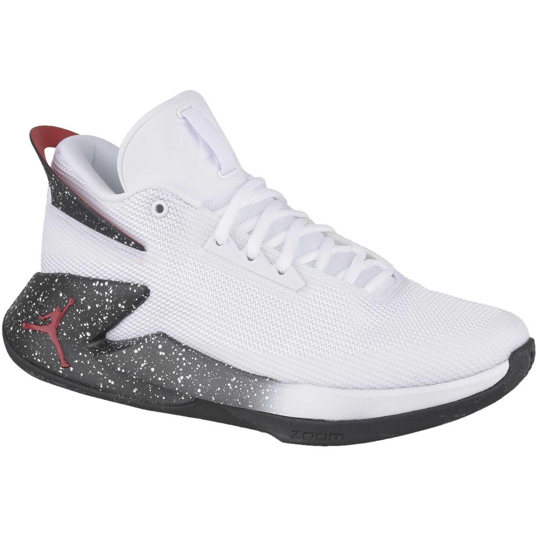 e96a8ea2ee20a Zapatilla de Hombre Nike Blanco   negro jordan fly lockdown ...