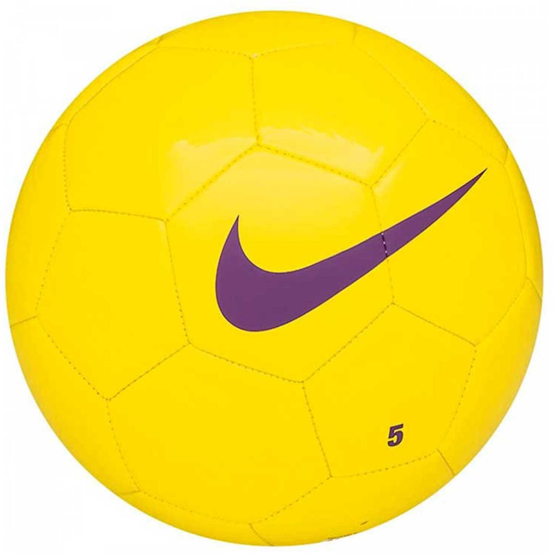 Pelota de Hombre Nike Amarillo / Morado nk team trng