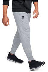 Under Armour Gris de Hombre modelo rival fleece jogger-gry Deportivo Pantalones