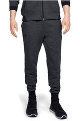 Under Armour Plomo / negro de Hombre modelo unstoppable 2x knit jogger-blk Pantalones Deportivo