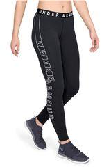 Leggin de Mujer Under Armour Negro / blanco favorite graphic legging- wm-blk