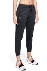 Under Armour Negro / blanco de Mujer modelo synthetic fleece jogger pant-blk Pantalones Deportivo
