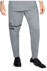 Under Armour Gris / negro de Hombre modelo mk1 terry tapered pant-gry Deportivo Pantalones