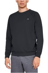 Polera de Hombre Under Armour Navy rival fleece crew-blk