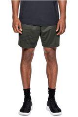 Under Armour Plomo / negro de Hombre modelo mk1 7in short camo print-grn Shorts Deportivo