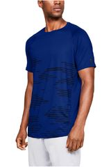 Under Armour Azulino de Hombre modelo mk1 ss camo print-blu Deportivo Polos