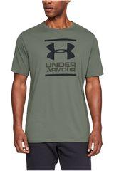Under Armour Militar de Hombre modelo ua gl foundation ss t-grn Polos Deportivo
