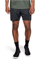 Under Armour Negro /gris de Hombre modelo mk1 7in short inset graphic-blk Shorts Deportivo