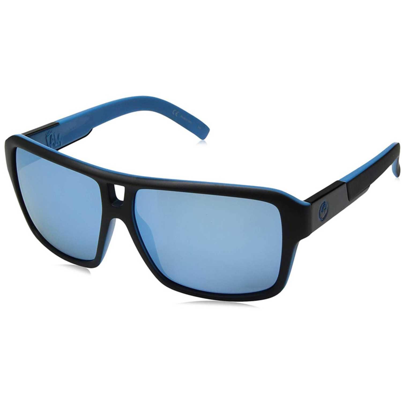Lentes de Hombre Dragon Azul / negro the jam matte black / sky blue ion