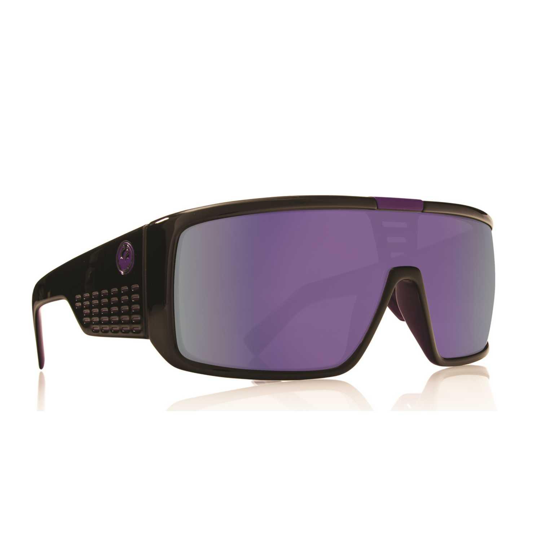 Lentes de Hombre Dragon Negro / morado domo matte purple/purple ion