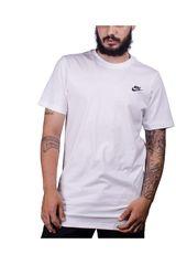 Nike Blanco de Hombre modelo m nsw tee alt hem futura lbr Deportivo Polos