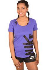 Nike Lila de Mujer modelo w nsw tee futura fill crew Deportivo Polos
