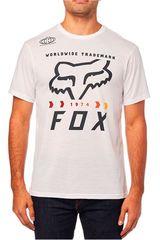 Fox Blanco / negro de Hombre modelo murc fctry ss tech Deportivo Polos