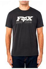 Fox Negro / blanco de Hombre modelo race team ss premium Deportivo Polos