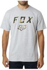 Fox Gris / negro de Hombre modelo cyanide squad ss Deportivo Polos