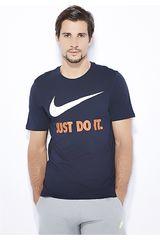 Polo de Hombre Nike Navy / Rojo m nsw tee jdi swoosh new