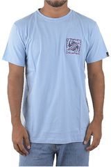 Quiksilver Celeste de Hombre modelo saved by the swell Deportivo Polos
