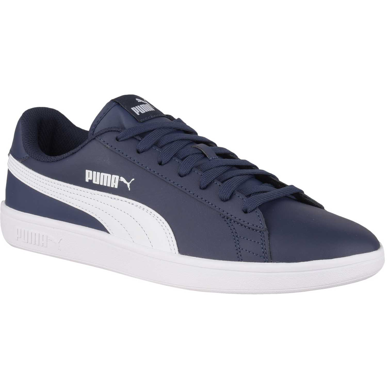 Zapatilla de Hombre Puma Azul / blanco puma smash v2 l