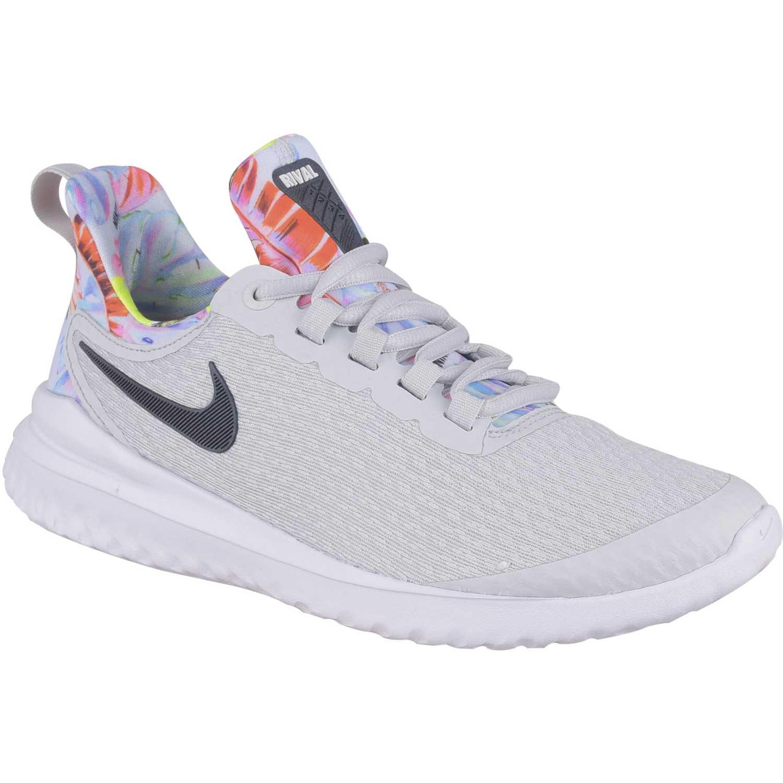 90cf34ada76 Zapatilla de Mujer Nike Gris   negro w nike renew rival premium ...