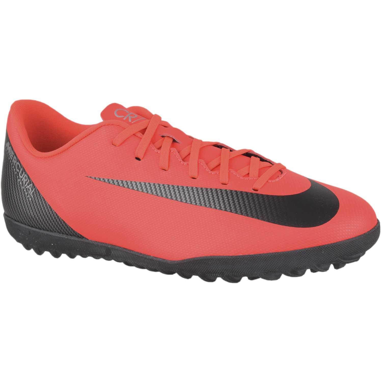 f3705d17559 Zapatilla de Hombre Nike Rojo   negro vaporx 12 club cr7 tf ...