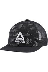 Reebok Negro / plomo de Hombre modelo act enh gr flat peak cap Gorros
