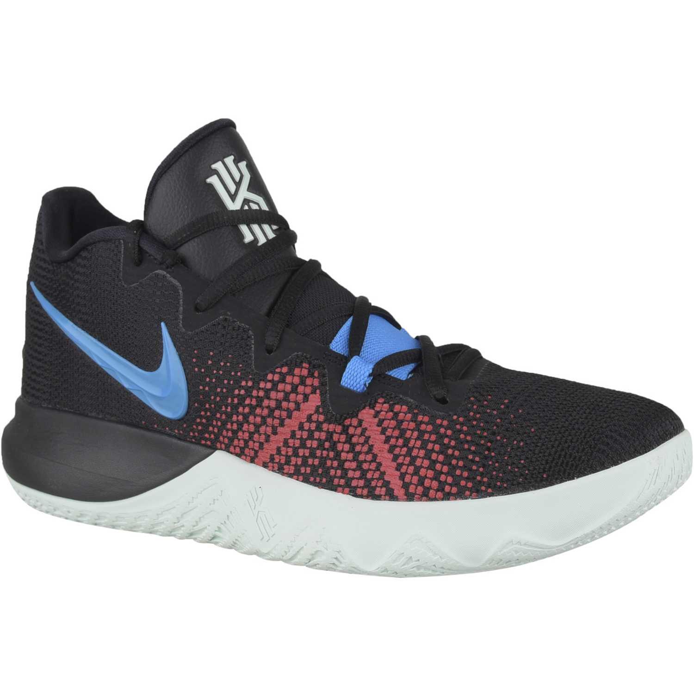 6033f9696ac Zapatilla de Hombre Nike Negro   celeste kyrie flytrap