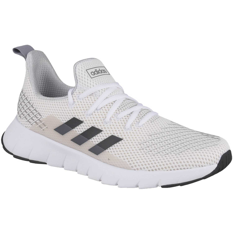 Zapatilla de Hombre Adidas Blanco / negro asweego
