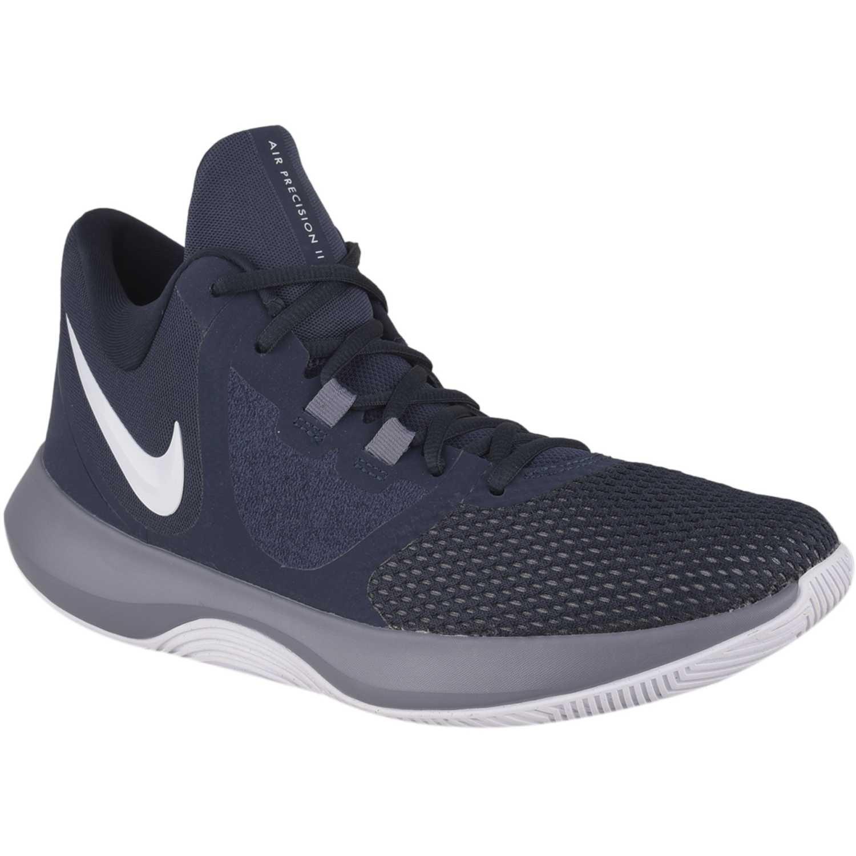 be179474705 Zapatilla de Hombre Nike Navy   Gris nike air precision ii ...