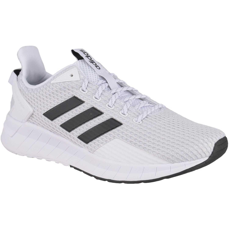 Zapatilla de Hombre Adidas Blanco / negro questar ride