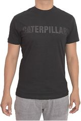 Polo de Hombre CAT Gris / azul slim fit caterpillar logo tee