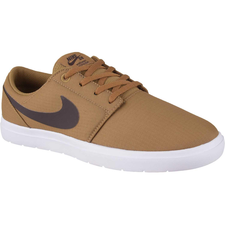 Zapatilla de Hombre Nike Mostaza / Negro nike sb portmore ii ultralight