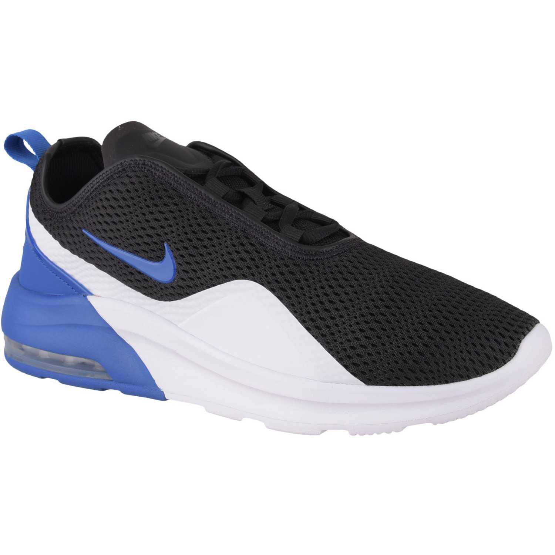 Zapatilla de Hombre Nike Negro / azul nike air max motion 2