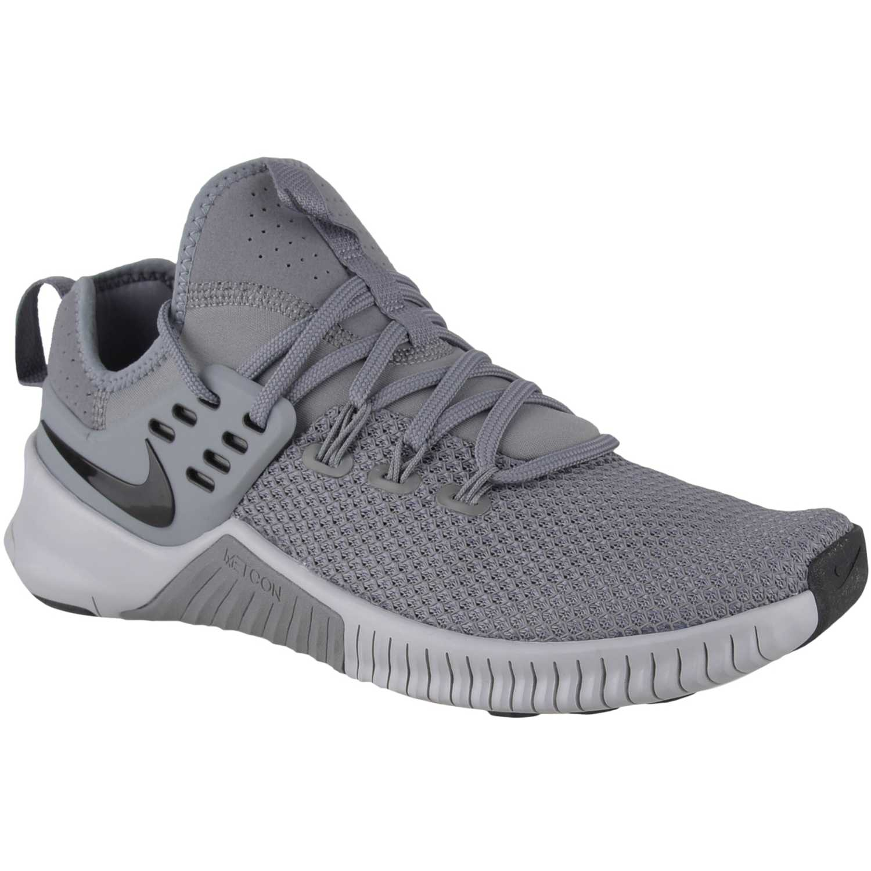 Zapatilla de Hombre Nike Plomo / negro nike free metcon