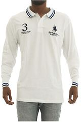 Polo de Hombre BERKSHIRE POLO CLUB Blanco polera-159-1536187