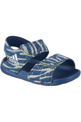 Sandalia de Niño Adidas Navy / Gris altaswim i
